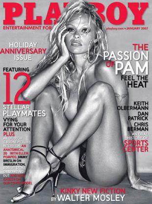 Pamela Anderson po raz kolejny pojawi się w Playboyu