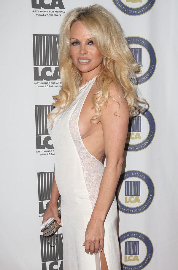 Pamela Anderson na ostatniej ok�adce rozbieranego Playboya