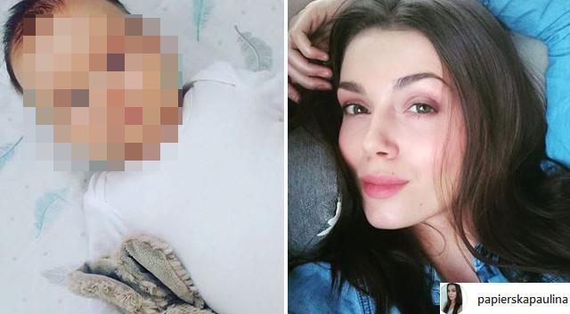 Paulina Papierska pokazała synka w CAŁEJ okazałości i zdradziła IMIĘ (Instagram)