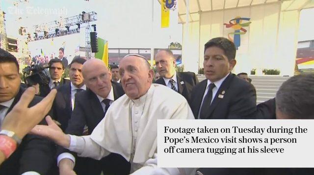 Papież Franciszek wpadł w złość