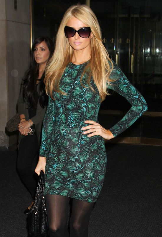 Paris Hilton na antenie: P*ierdolony d*pek