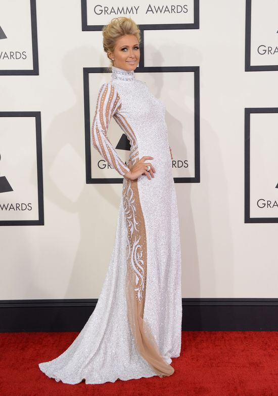 Plejada gwiazd na rozdaniu nagród Grammy (FOTO) paris hilton
