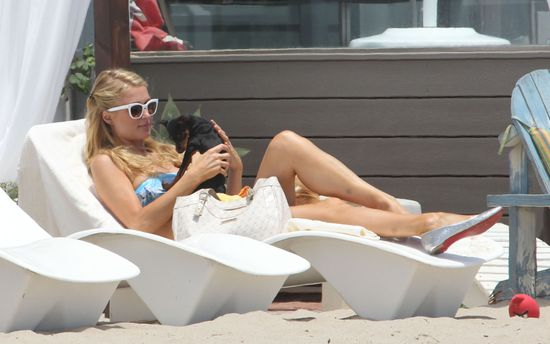 Psia mama Paris Hilton (FOTO)