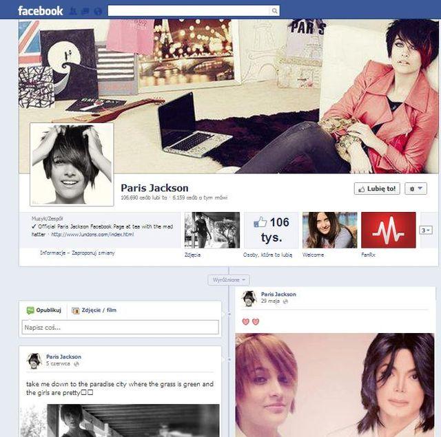 Rodzina Paris Jackson: To Facebook doprowadził do tragedii