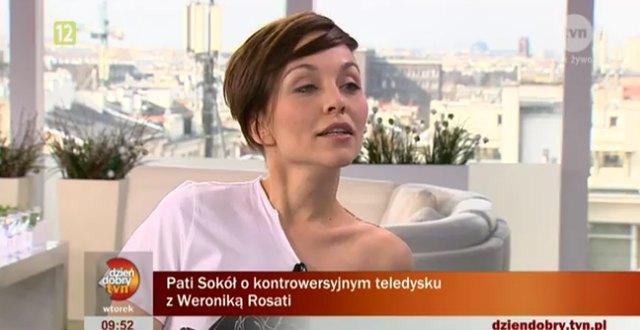 Pati Sokół o Nergalu i pocałunkach z Rosati