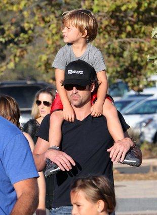 Patrick Dempsey z synem – podobni? (FOTO)