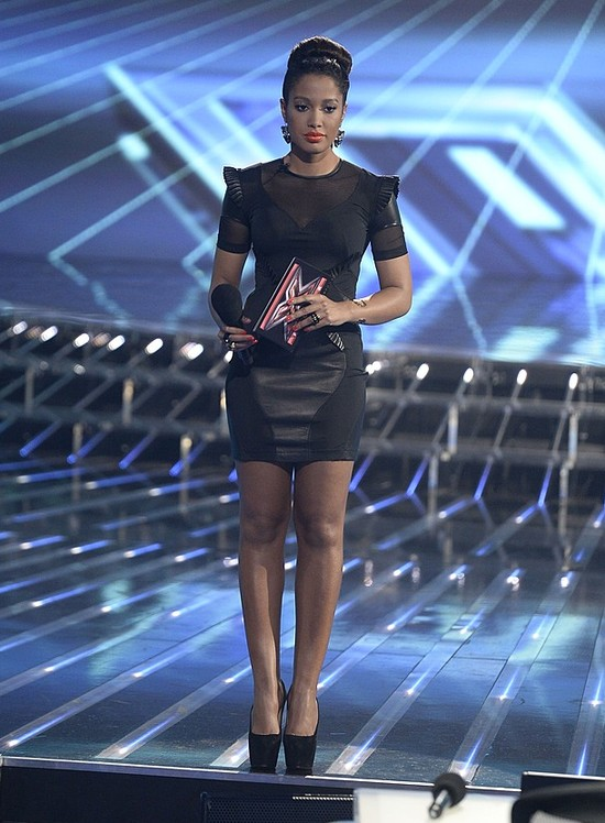 Nogi Patrycji Kazadi w X-Factor (FOTO)