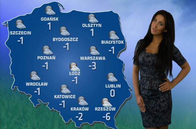 Patrycja Paj�k zosta�a pogodynk� (FOTO)