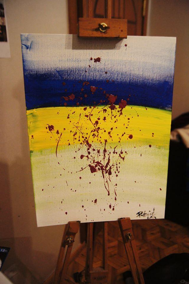 Patrycja Pająk maluje obrazy (FOTO)