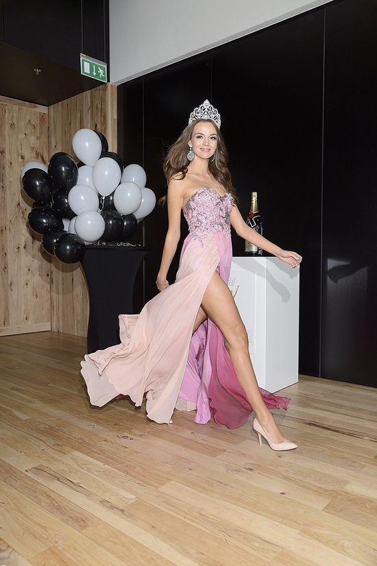 Paulina Krupińska jako 3. na Miss Universe