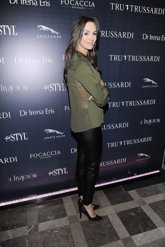 Gwiazdy na pokazie mody Trussardi (FOTO)