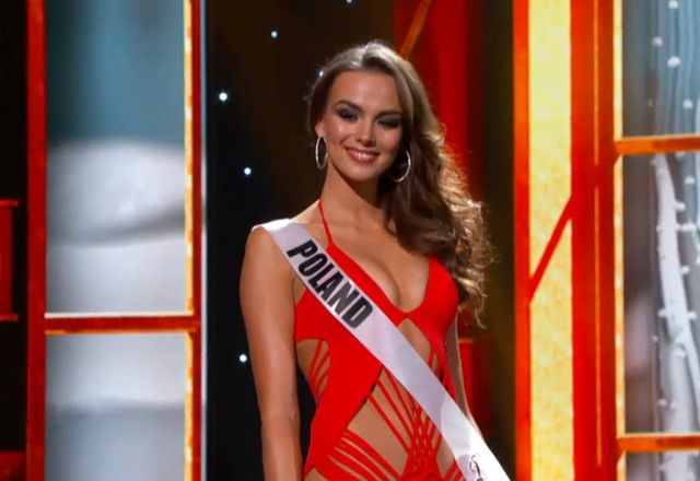 Paulina Krupi�ska nie zostanie Miss Universe!