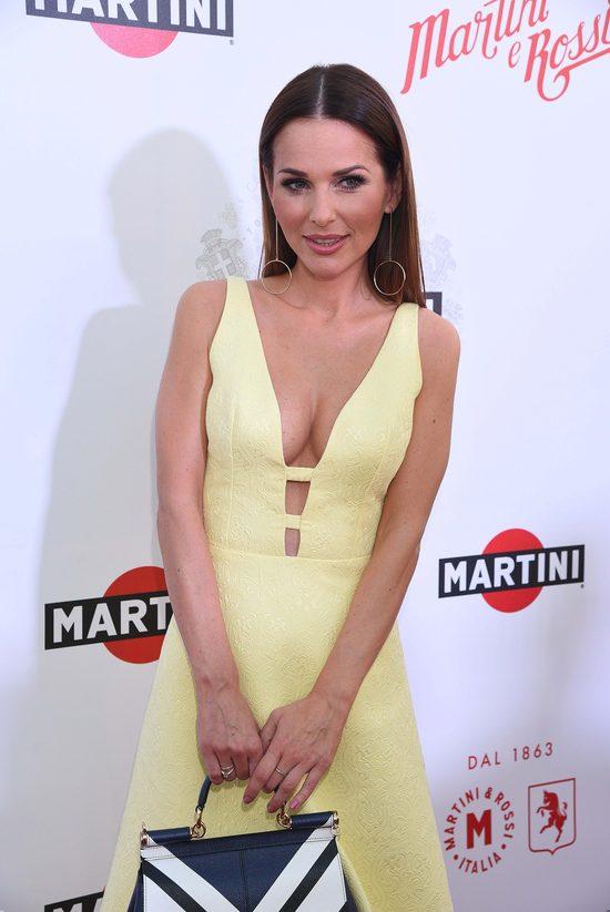 Paulina Sykut błysnęła biustem na imprezie Martini (FOTO)