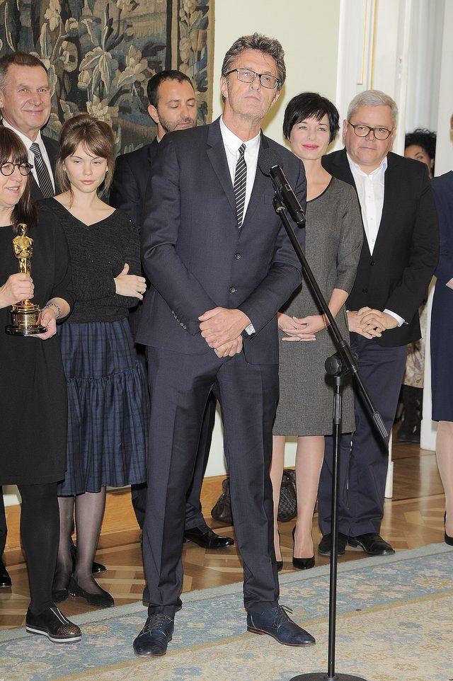Agata Trzebuchowska i Paweł Pawlikowski u prezydenta (FOTO)