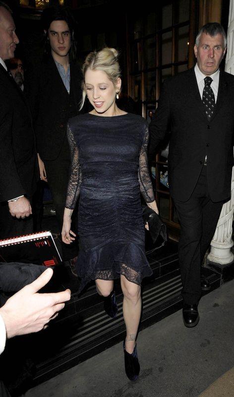 Po Peaches Geldof nie widać zaawansowanej ciąży (FOTO)