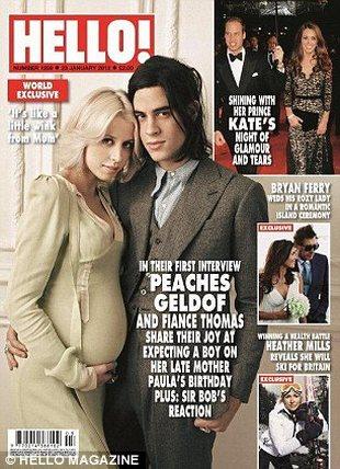 Peaches Geldof pokazała ciążowy brzuszek (FOTO)