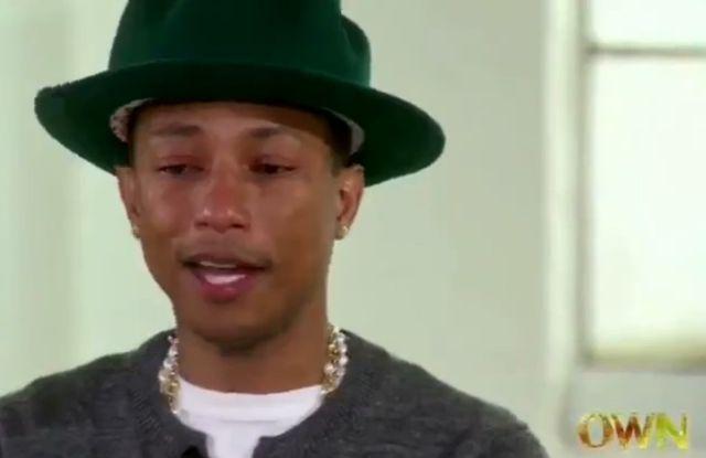 Pharrell Williams ma powody do płaczu! (VIDEO)