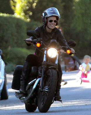 Pink i Carey Hart na Harleyach (FOTO)