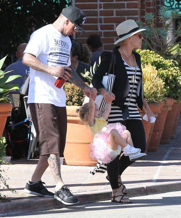 Pink podzieliła się słodką fotką (FOTO)