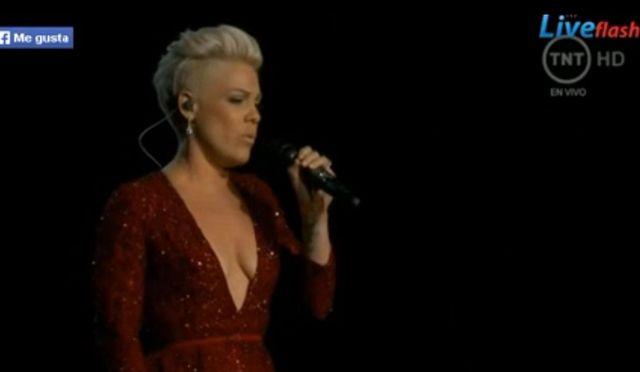 Pink powaliła na kolana swoim występem na Oscarach (VIDEO)