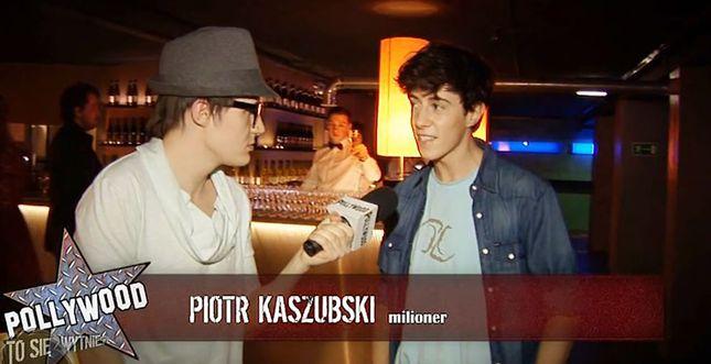 Piotr Kaszubski: Nie patrzę na ci*kę [VIDEO]