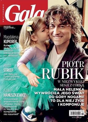Piotr Rubik z córką Heleną w Gali (FOTO)