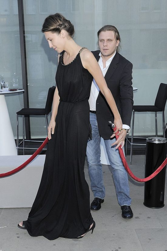 Piotr Starak z piękną kobietą na imprezie (FOTO)