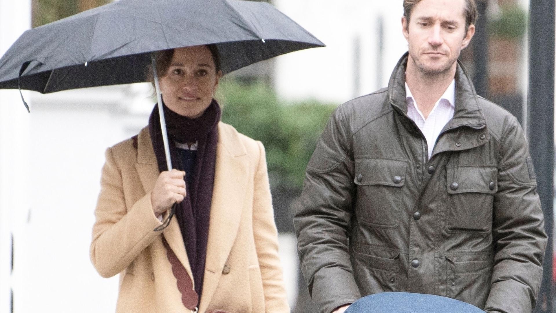 Pierwsze zdjęcie Pippy Middleton i jej SYNKA! Wróciła do formy sprzed ciąży?