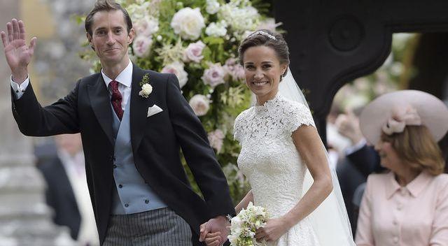 Pippa Middleton wyszła za mąż – jaką miała suknię ślubną?