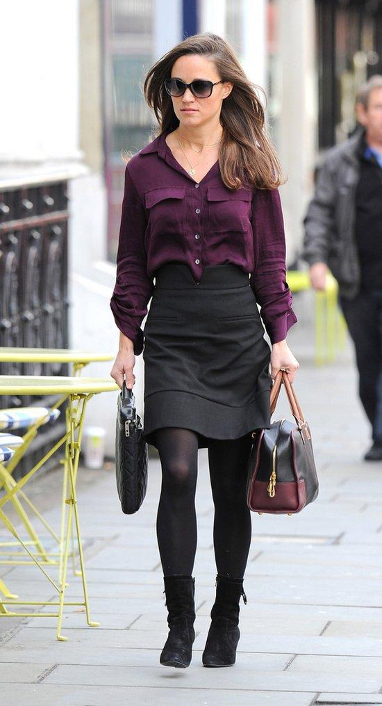 Pippa Middleton na językach brytyjskich mediów