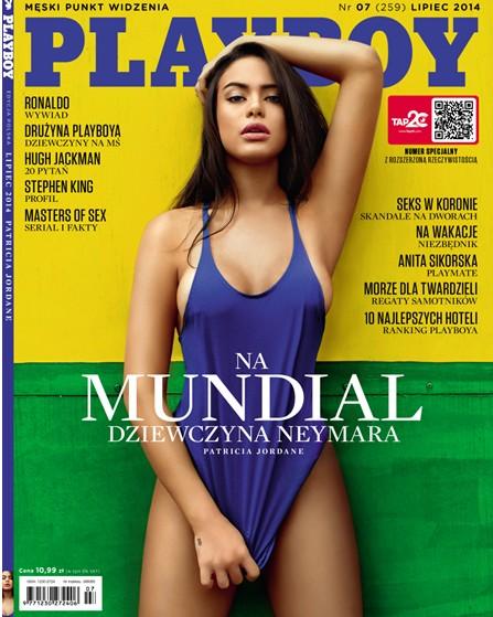 Dziewczyna Naymara na ok�adce nowego Playboya (FOTO)