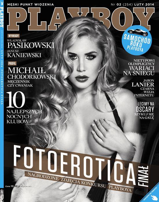 A na okładce najnowszego Playboya...