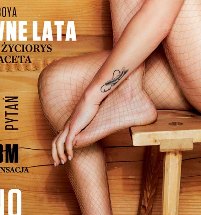 TYLKO U NAS: Justyna Żyła zrobiła prezent Piotrowi. Rozebrała się dla Playboya!