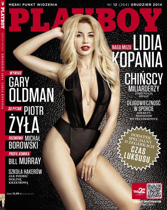 WOW! Lidia Kopnia w najnowszym Playboyu (FOTO)