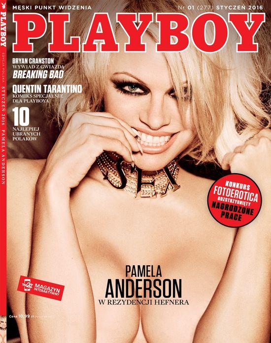 Pamela Anderson na nowej okładce polskiego Playboya! (FOTO)