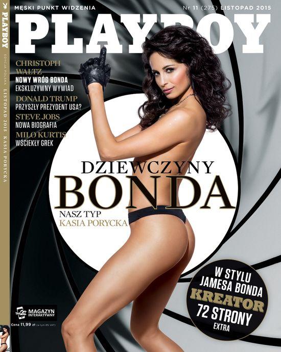 Kasia Porycka na okladce nowego Playboya!