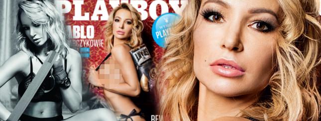 Małgorzata Babilońska-Włodarczyk, żona boksera, w Playboyu