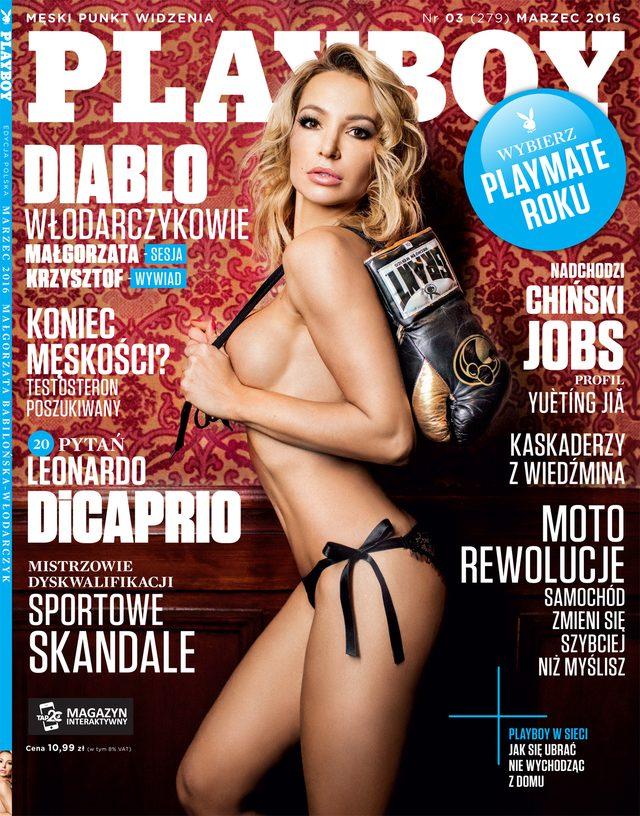 Ma�gorzata Babilo�ska-W�odarczyk, �ona boksera, w Playboyu