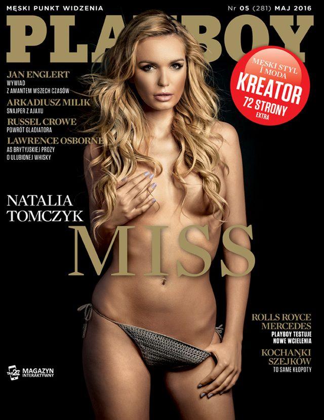 Natalia Tomczyk, finalistka konkursów Miss, nago w Playboyu