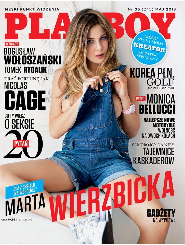 Marta Wierzbicka: Po sesji dla Playboya płakała 2 godziny!