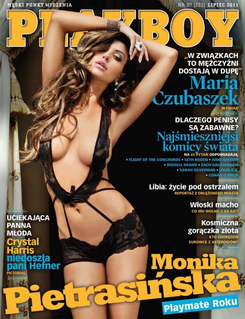 Monika Pietrasińska miała aż 26 publikacji w Playboyu