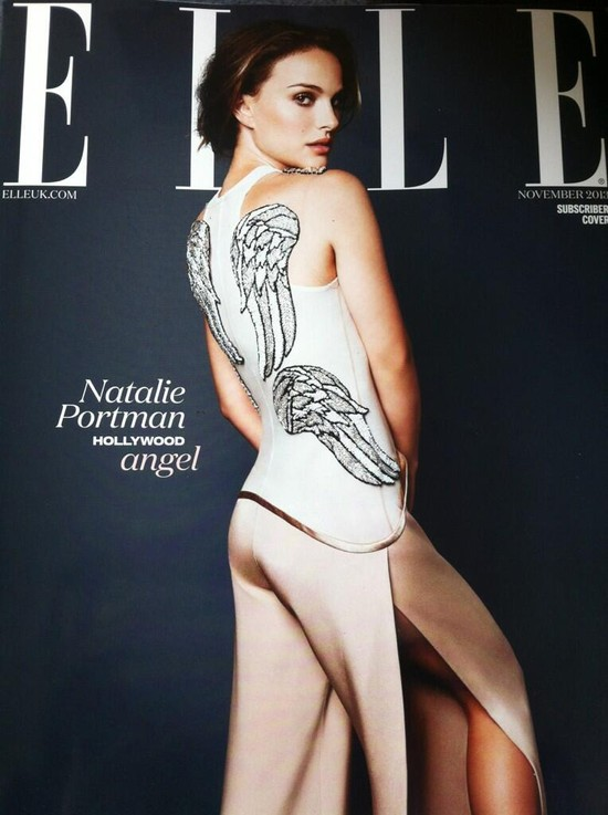 Natalie Portman na ok�adce Elle - �le czy przeci�tnie? (FOTO