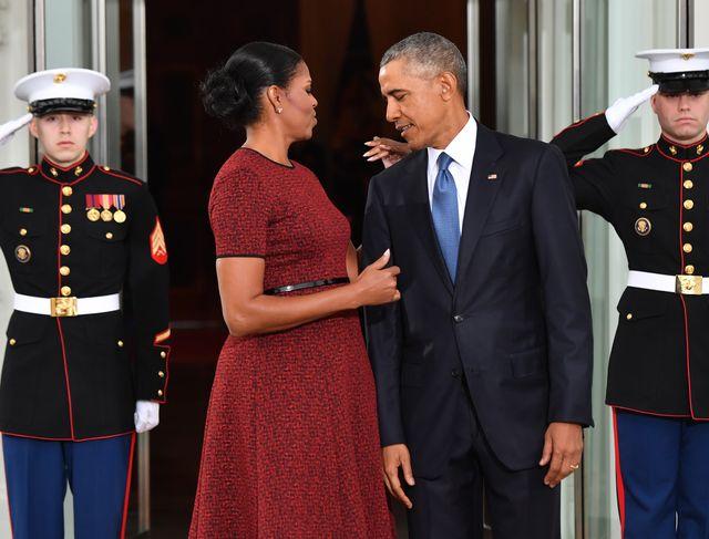 Michelle Obama w sukni ślubnej - tak wyglądała 25 lat temu