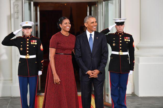 Melania Trump i Michelle Obama na inauguracji prezydentury Donalda Trumpa (FOTO)