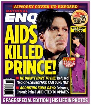Prince był chory na AIDS?