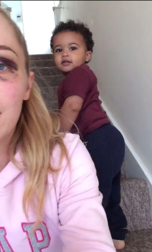 Szok! O tym video pobitej matki pisze cały świat (VIDEO)