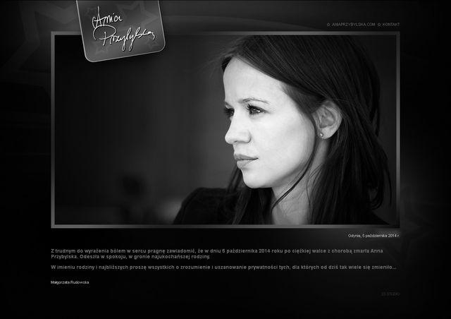 Anna Przybylska nie żyje