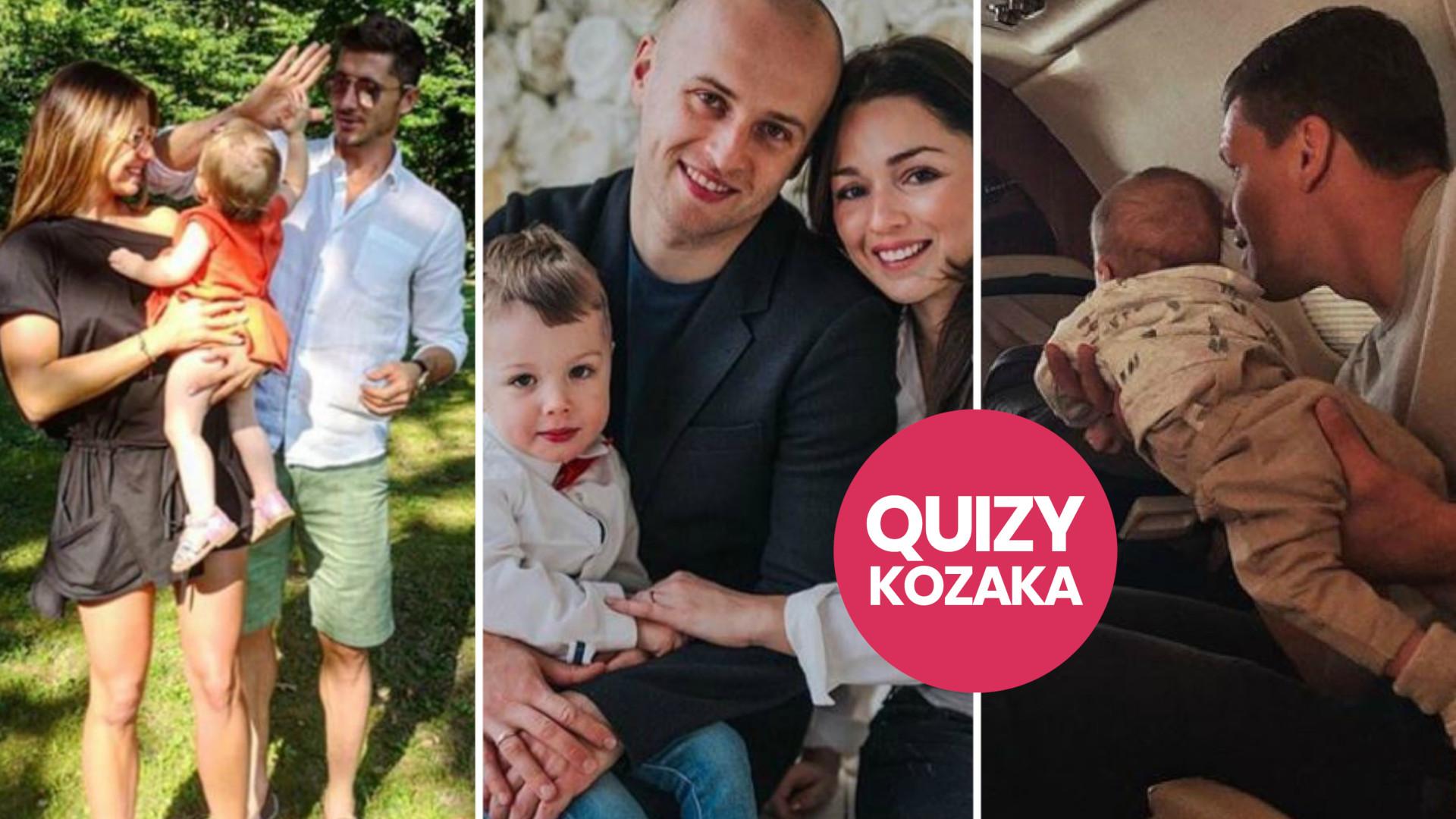 Imiona DZIECI polskich PIŁKARZY (QUIZ)