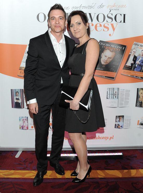 Radek Liszewski zabrał żonę na salony (FOTO)