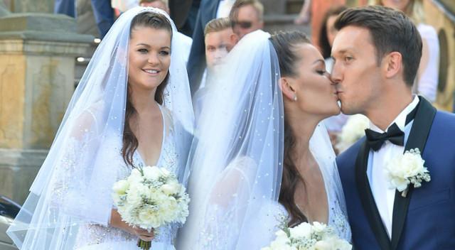 Nie uwierzysz, ile trwało szycie sukni ślubnej Agnieszki Radwańskiej